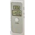 Цифров алкохолен тестер (дрегер) с часовник-будилник и термометър